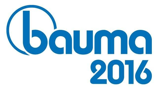Bauma 2016 Trade Fair – Munich 11-17 April