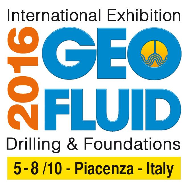 GEOFLUID INTERNATIONAL EXHIBITION IN PIACENZA, 5-8 OCTOBER 2016